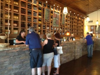 The Cedar Lake Cellars wine tasting room was inspired by West Coast wineries . & Inspiration delivers success for Cedar Lake Cellars | Newsmagazine ...